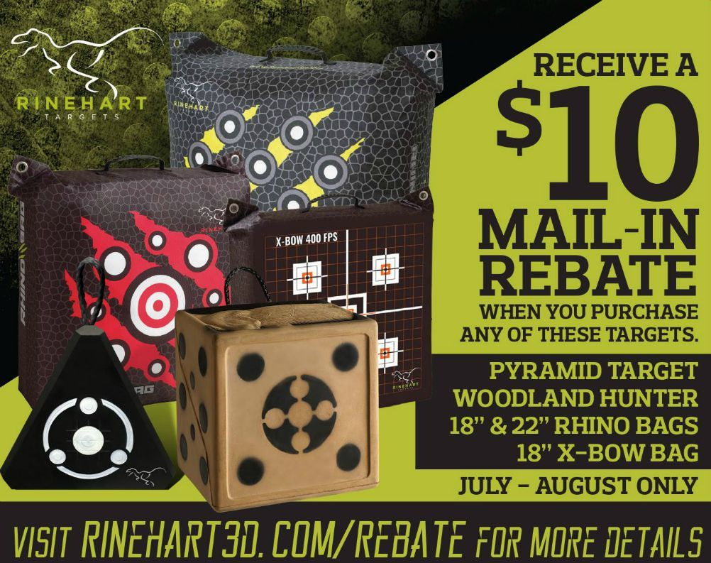 Mail In Rebate Offers >> Summer 2018 Mail In Rebate Offers From Rinehart Hunting