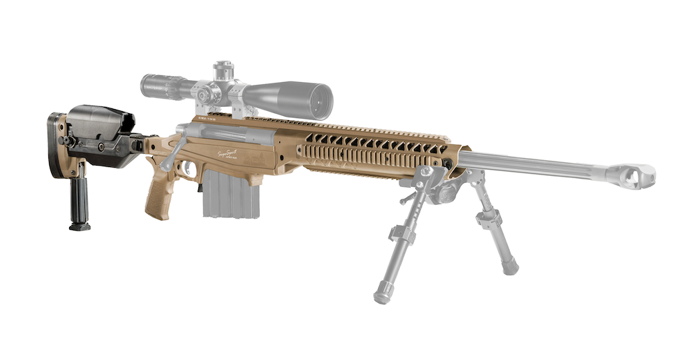 375CT SuperSport (Yamil) with Grayed-out Barreled Action & Scope