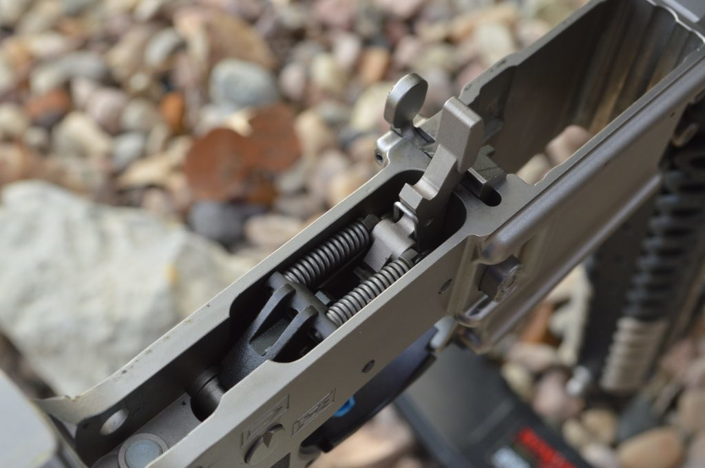 The HiperTouch 24ECL with nickel coating is right at home in this Marine Nickel Boron coated Barnes Precision Machine AR-15.