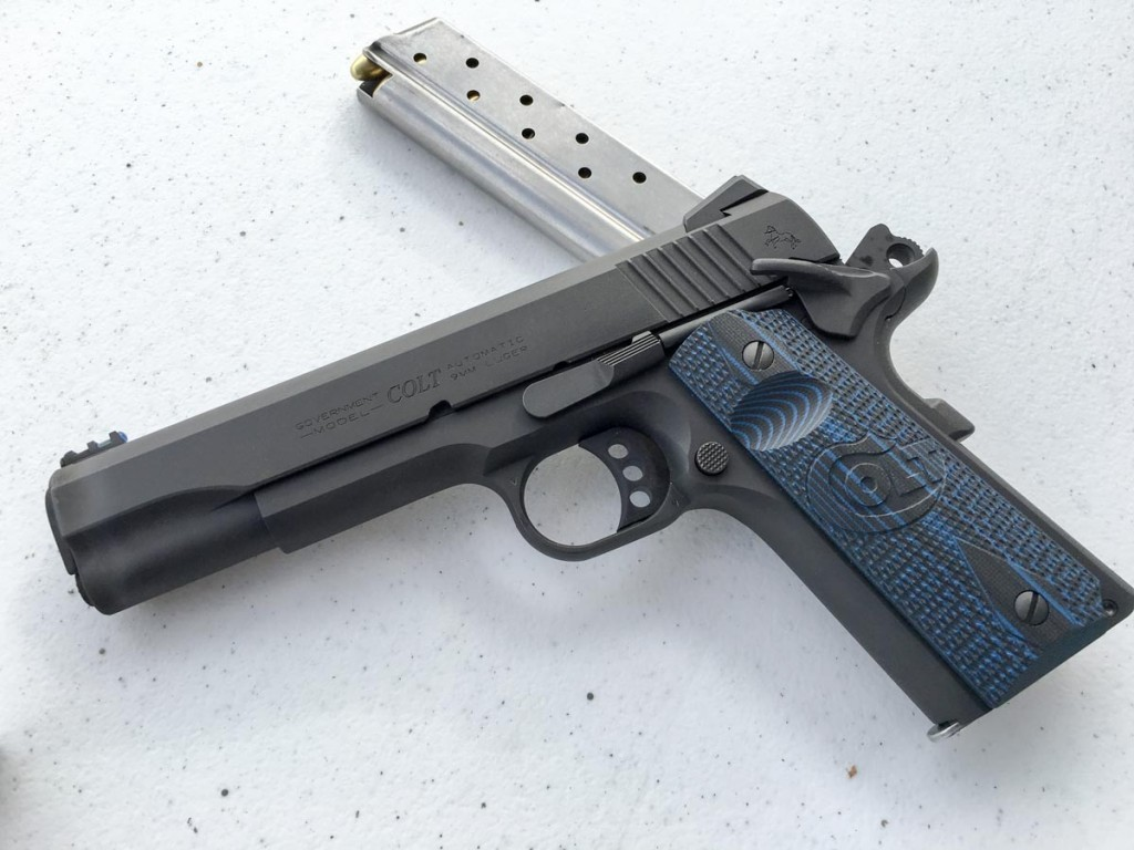 The new Colt Competition 9mm.