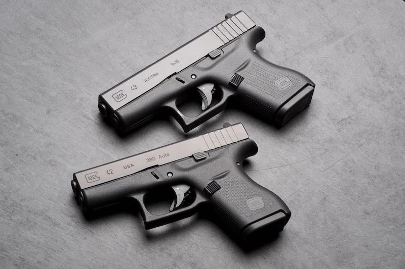 The Glock 43 versus the Glock 42