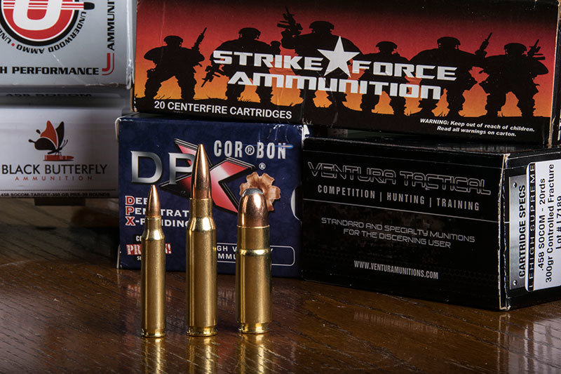 The .458 SOCOM round itself is designed to replicate the ballistics of the venerable .45-70 Gov cartridge.