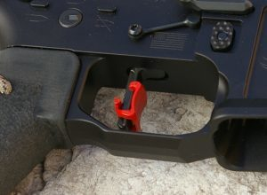 Many competitors are using the HiperTouch 24C on their competition builds such as this SanTan Tactical competition lower receiver.