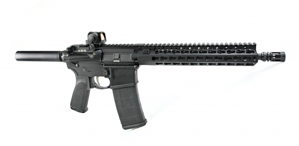 The BCM RECCE-11 KMR-A is a perfect example of a purpose-built AR pistol ready to be fully accessorized by a customer.