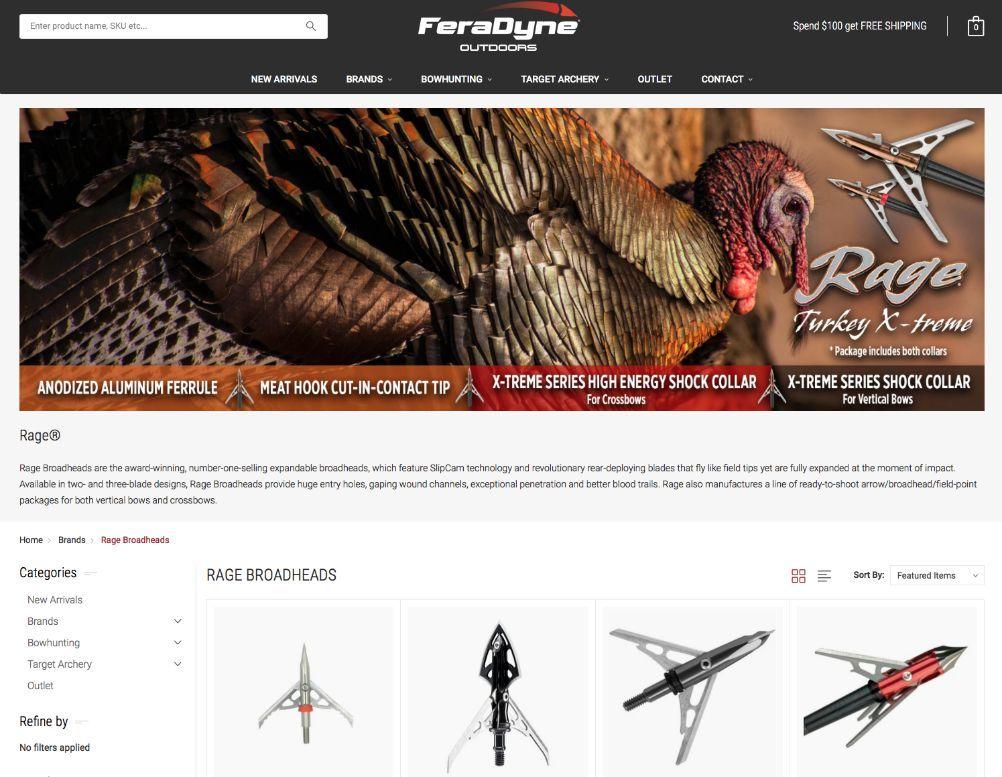 FeraDyne new website