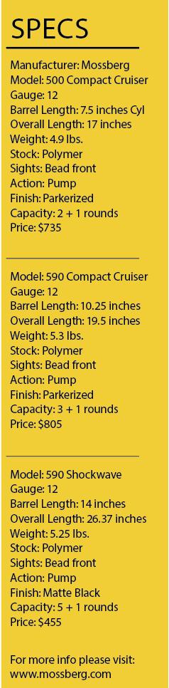 Mossberg Compact Cruiser