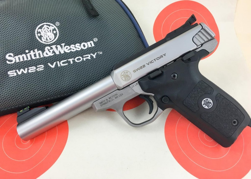 Smith & Wesson's SW22 Victory basic model.