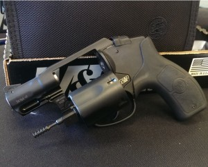 Smith&Wesson M&P Bodyguard revolver