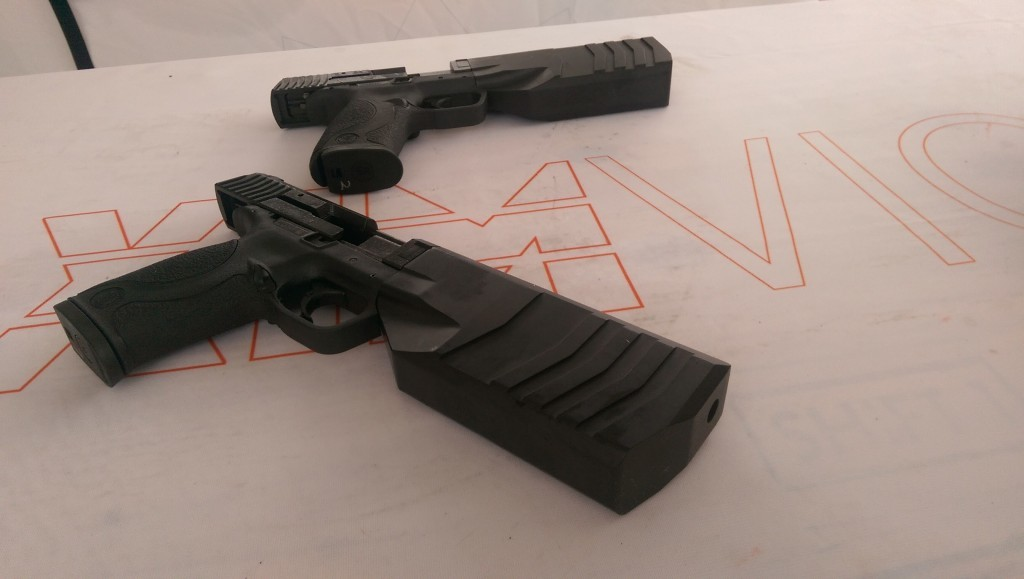 """Hello Robo Cop, meet the Maxim9. """"We can see the end of the tunnel, and tomorrow you can see the future."""""""